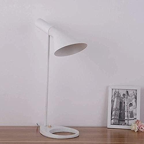 Lievevt Lámpara Escritorio Lámpara de Mesa de Noche de Dormitorio Moderno de Hierro Forjado Creativo nórdico lámpara de Mesa de Moda de Escritorio de Lectura
