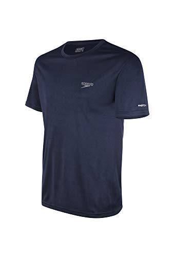 Speedo Camiseta Interlock Masculino Azul G