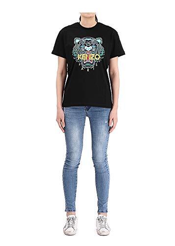 Kenzo Tiger - Camiseta de tirantes para mujer, color negro Negro L