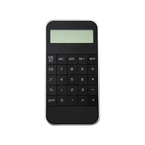 10桁 電子計算機 ミニ ビジネス電卓 LR44ボタンバッテリー ポケット電子電卓 科学計算機 標準機能 薄型 スマホ携帯電話のサイズ 携?便利 ホーム オフィス 学校 学習用品 ブラック