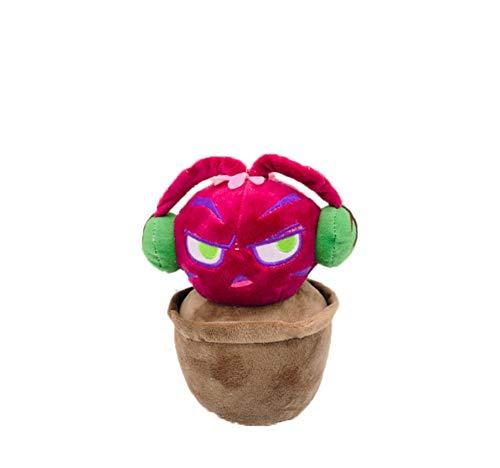 WPQL Pot Dragon Juguetes de Peluche, Juguete Suave de Plantas, Divertido muñeco de Peluche, cumpleaños para niños, 23 cm