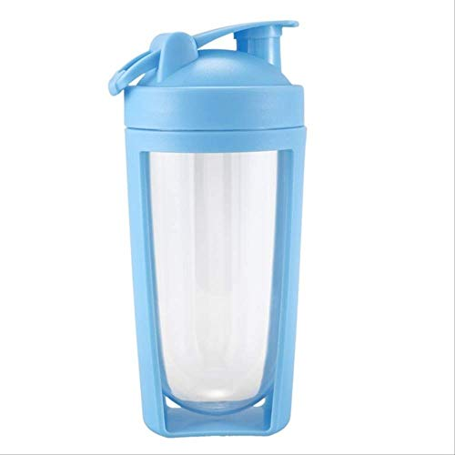 Thermal Mug ZXCJIA 750Ml Powder Shaker Protein Shaker Bottle Large Capacity Water Bottle Outdoor Sports Drink Mixer My Water Bottle 205 * 92mm Blue