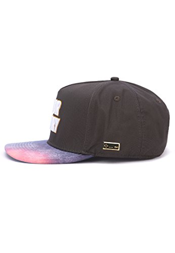Hands of Gold HOG Major Victory Cap Snapback, Black/White, one Size