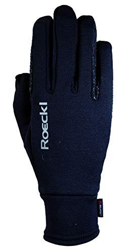 Roeckl Sports Winter Handschuh -Weldon- Unisex Reithandschuh, Schwarz, 7