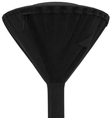 Amazon Basics Outdoor Pyramid Stand Up Patio Heater Cover, Black