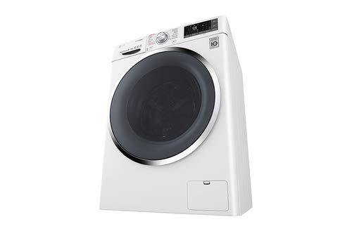LG F4J8FH2W lavadora Carga frontal Independiente Negro, Blanco A ...