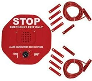 SAFETY TECHNOLOGY 6402 EXIT STOPPER FOR DOUBLE DOOR (2 Pack)