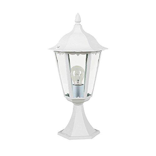 Eglo Outdoor, 4183 sokkellamp, wit, vloerlamp, verlichting, gegoten aluminium