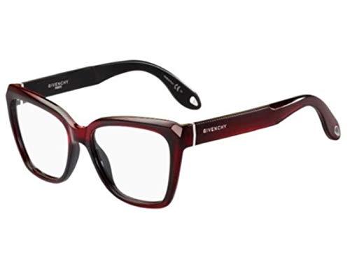 Givenchy GIVENCY occhiale vista da donna GV0005 Rosso Scuro, 52