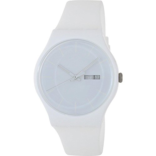 Swatch Originals White Rebel Mens Watch SUOW701: Watches