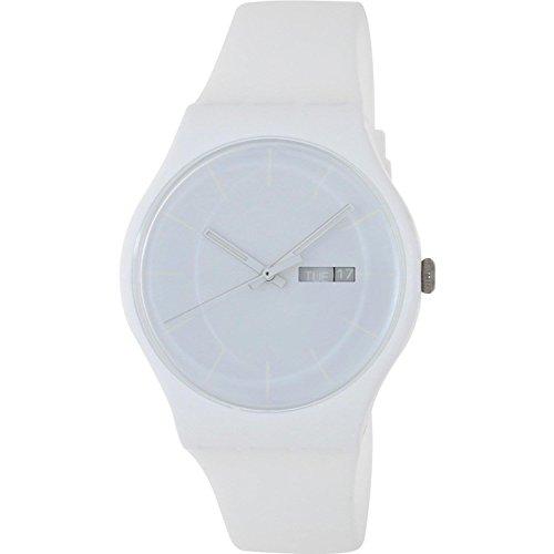 Swatch SUOW701 - Orologio da polso da uomo colore bianco