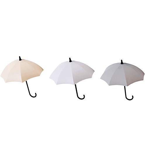 UKtrade Bonito soporte para llaves de paraguas, organizador de ganchos de pared duradero (6 unidades)