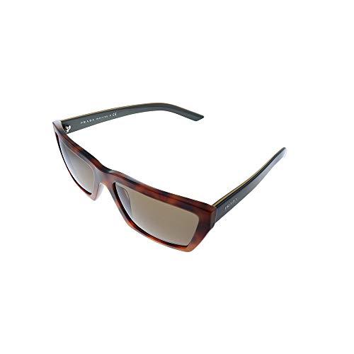 Prada 0PR 04VS Gafas de sol, Spotted Light Brown, 59 para Mujer