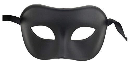 Burlesque-Boutique Black Colorful Venetian Party Mask