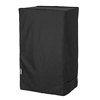 "Unicook Electric Smoker Cover, Vertical Smoker Cover, Heavy Duty Waterproof BBQ Grill Cover, Fade and UV Resistant Material, Fits Masterbuilt 40 Inch Electric Smokers and More, 28"" W x 22"" D x 39"" H"