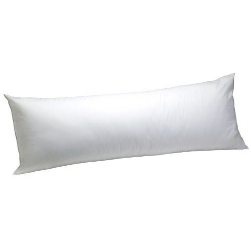 """Web Linens Inc 20""""x 60"""" Body Pillow - Extra Large - Recommended for People 5'10"""" and Taller - Exclusively by Blowout Bedding RN# 142035"""