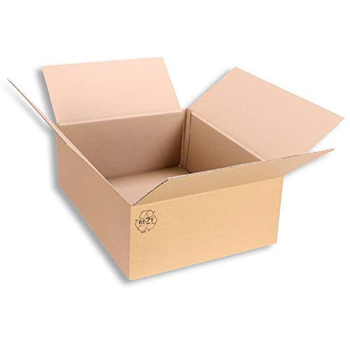 Faltkarton 400 x 300 x 150 mm Karton Schachtel Versandkarton Paketversand 25 Stück