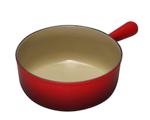 LE CREUSET, Gusseisen, Rot, 22 cm