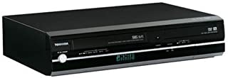 Toshiba D-KVR20 1080p Upconversion Progressive Scan DVD±RW/VHS Combo Recorder w/HDMI (Black)