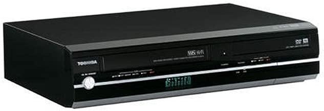 Toshiba D-KVR20 1080p Upconversion Progressive Scan DVD±RW/VHS Combo Recorder w/HDMI (Black)