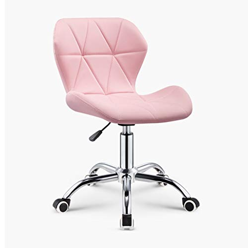 CHY Las Heces Barra De Metal Ajustable, Altura De Mostrador Taburetes Conjunto De 4, For Sillas Cocina Computadora De Oficina del Contador (Color : Pink, Size : Bar stools Set of 1)