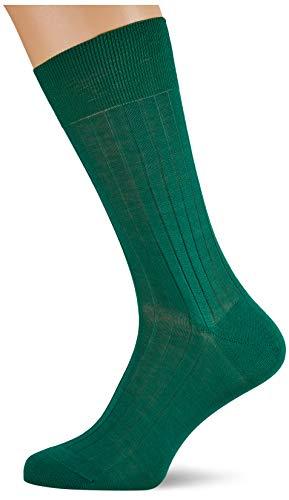 Hackett Mens SOLID Socks, 633BRIGHT Green, ML