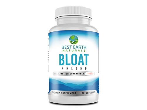 Bloat Relief - Maximum Strength Natural Diuretic Water Pills with Dandelion, Green Tea, Cranberry, Apple Cider Vinegar & More to Help Lose Water Weight, Relieve Bloating, Swelling and Water Retention