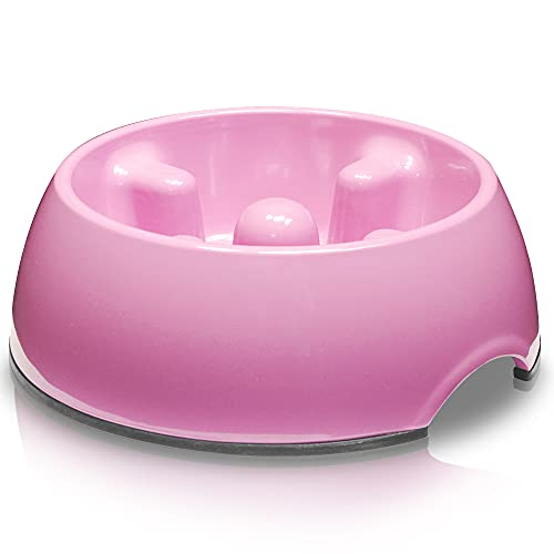 Dogit Hunde Antischling Napf, Hundenapf, 140ml, pink
