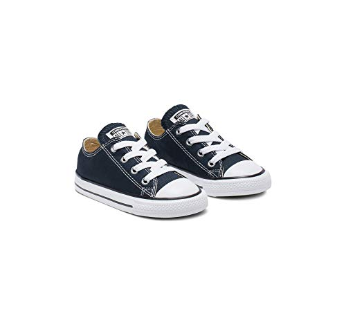Converse Unisex-Child Chuck Taylor All Star Low Top Sneaker, navy