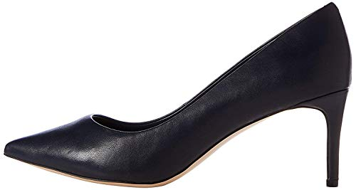 Find. Point Mid Heel Leather Court Zapatos Tacón