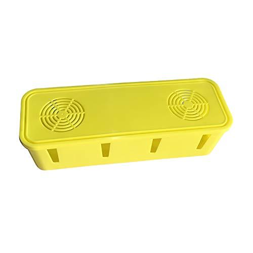 Xinapy Caja de Gestión de Cables Caja Organizadora de Cables de Gestión de Cables de Cargador
