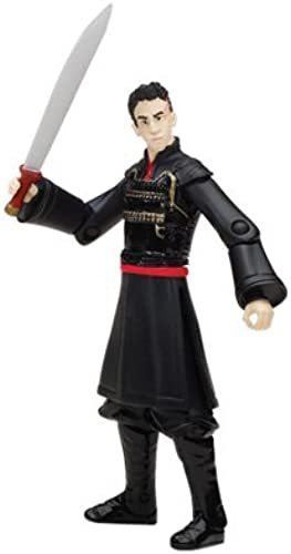 The Last Airbender 3-3 4  Figures Zuko by Spin Master (English Manual)
