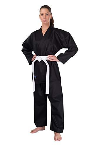 Karateanzug Bushido Extra schwarz (150)
