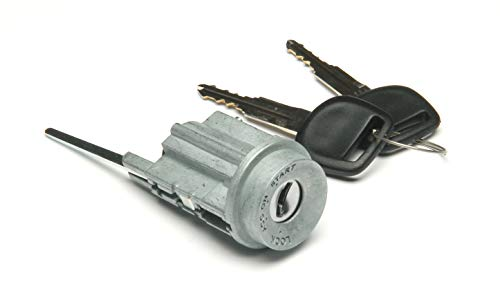 Well Auto Standard #US-263L Ignition Lock Cylinder -Tumbler with Key for 95-04 Tacoma - Floor Shift 96-02 4Runner