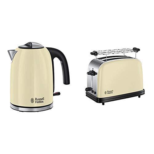 Russell Hobbs Colours Plus+ Classic Cream Wasserkocher + Toaster