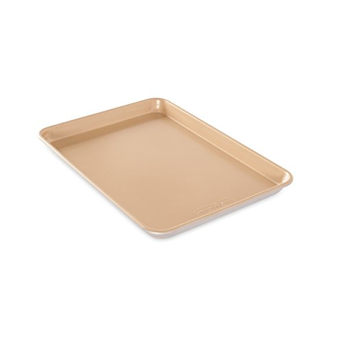 Nordic Ware Naturals Aluminum NonStick Jelly Roll Baking Sheet