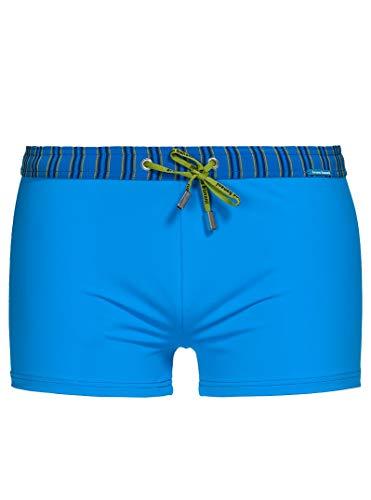 bruno banani Herren Short Uni Beach Stripe Swim Bademode, BB Herren:Blau // Blau/Marine 1930, Größe-BB Herren:XL/7
