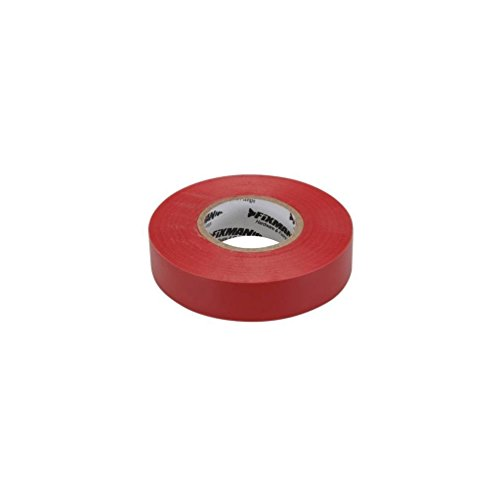 Fixman 191784 Isolierband 19mm x 33m, rot