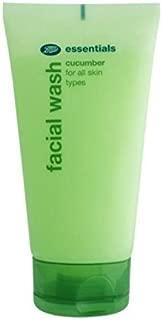 boots facial wash cucumber