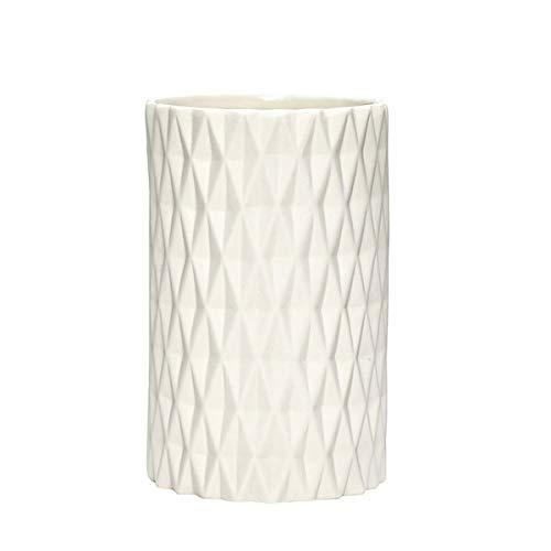 HUBSCH Vase en porcelaine avec motif
