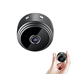 IFITech Mini Hidden WiFi Camera 1080P with Night Vision & Easy Installation for Home Security & Nanny Cam,IFITECH,IFISPYWIFI01