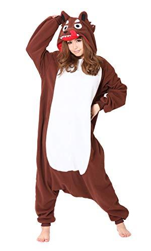 Pyjama Costume Deguisement Kigurumi Mechant loup Importé Directement du Japon - Taille Unique