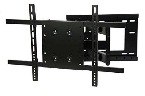 THE MOUNT STORE TV Wall Mount for Sharp 55 4K UHD HDR Smart TV LC-55P620DU VESA 200x200mm Maximum Extension 26 inches
