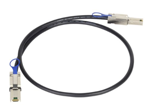 Silverstone Tek External Mini-SAS SFF-8088 to Mini-SAS SFF-8088 Cable (CPS01)