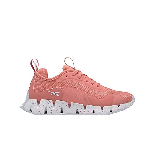 Reebok ZIG DYNAMICA, Zapatillas de Running Mujer, TWICOR/FTWBLA/BLUSMT, 37 EU