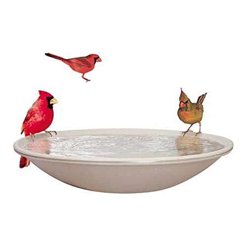 EZ Tilt-To-Clean Heated Bird Bath