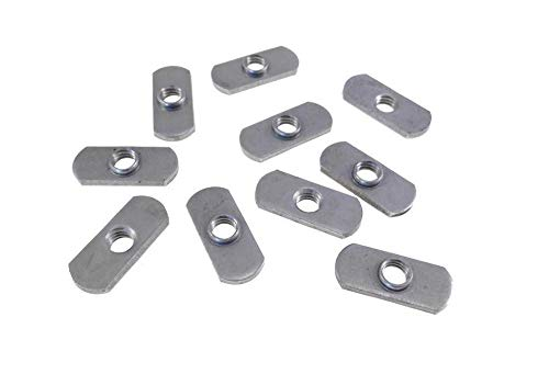 10 Pack 3/8-16 Spot Weld Nuts - Double Tab - ND 3324