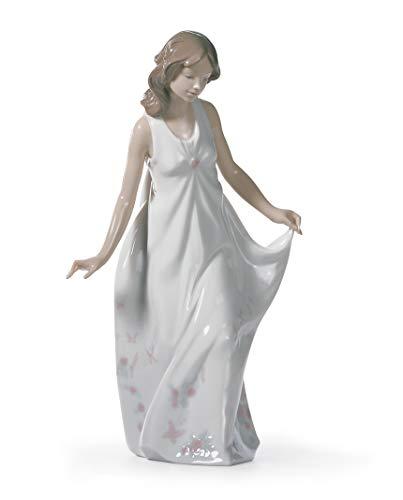 LLADRÓ Wonderful Mother Figurine. Porcelain Woman Figure.