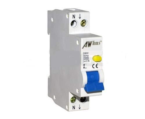 RCBO C16A 30mA 1-polig Fehlerstromschutzschalter mit Leitungsschutzschalter FI + LS