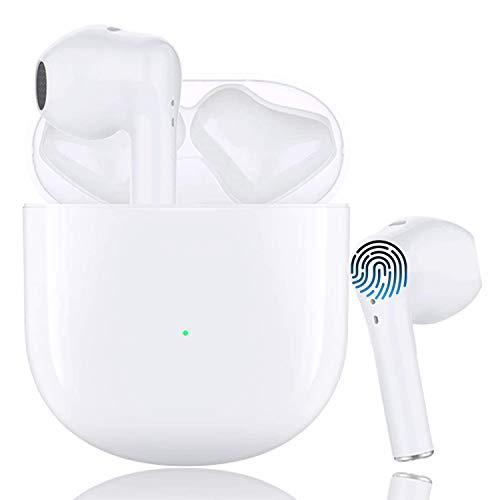 kopfhörer kabellos Bluetooth Kopfhor Noise Cancelling Kopfhörer(Schnellladekoffer) mit integriertem Mikrofon Für kopfhörer iPhone/Android/Samsung/Apple/in Ear kopfhörer Bluetooth kopfhörer